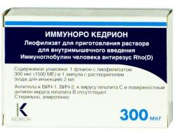 Антирезусный иммуноглобулин при беременности