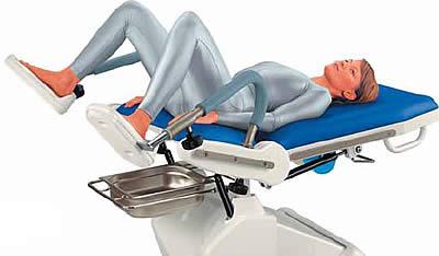 в гинекологическом кресле рисунки