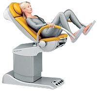 Как правильно лежать на гинекологическом кресле фотки
